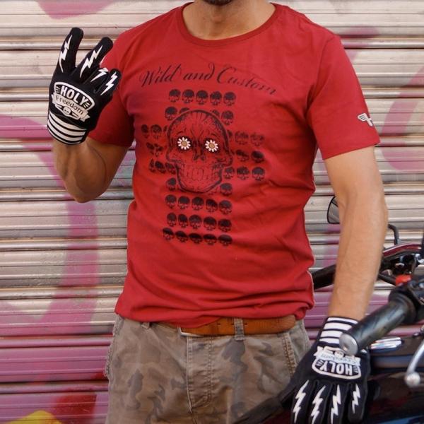 SKULL RED - T-Shirt