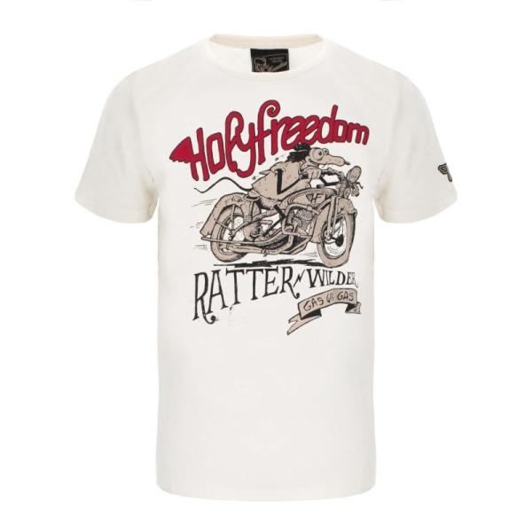 RATTER WHITE - T-Shirt