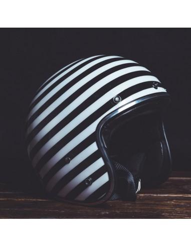 Helmet Jet STRISCIA