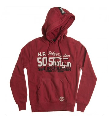 SHOTGUN RED - hooded...