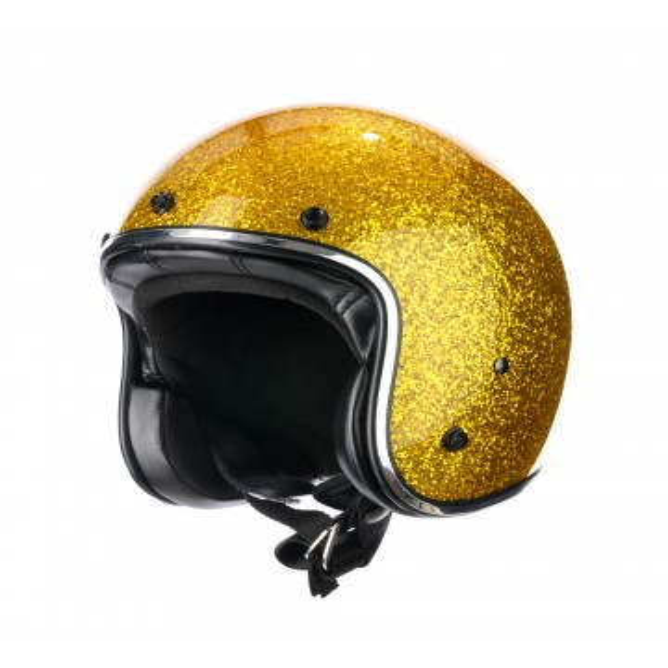 Helmet Jet GOLD