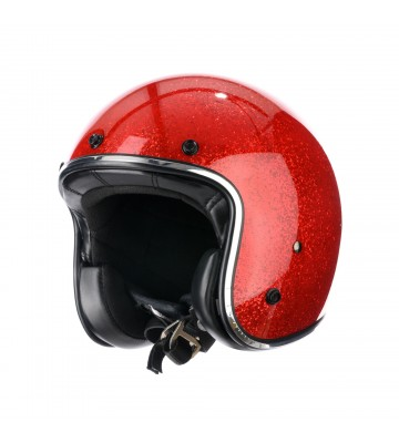 Casco Jet RED