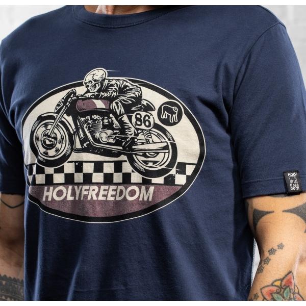 GHOST RIDER BLUE- t-shirt