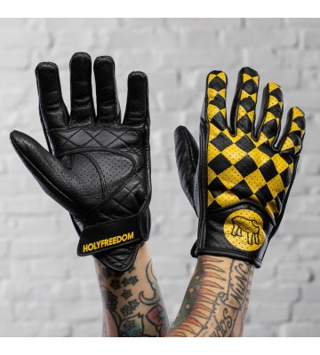 BULLIT BLACK & YELLOW - GLOVES