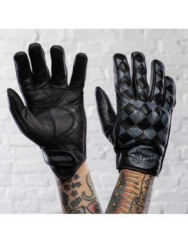 BULLIT GREY & BLACK - GLOVES