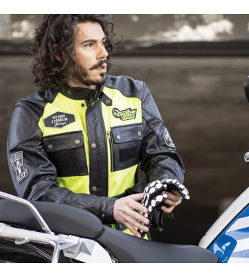 MOTORCYCLE JACKET - QUATTRO...