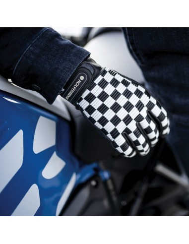 MOTORCYCLE GLOVE IN LEATHER  - SIR COCK