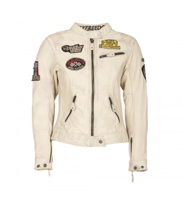 WOMAN LEATHER OFF WHITE