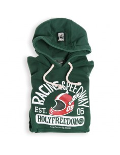 SPEEDWAY GREEN - hooded...