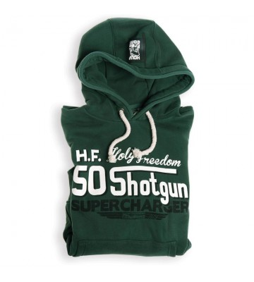 SHOTGUN GREEN - hooded...