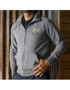 MELANGE - fullzip sweatshirt