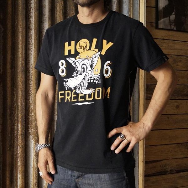 HOLYFREEDOM WOLF BLACK -...